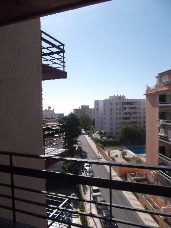 Hotel Medina Azahara: view from our balcony