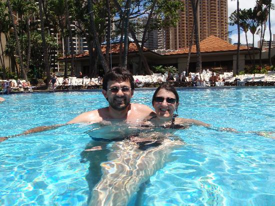 ฮิลตัน ฮาวายเอี่ยนวิลเลจ ไวกีกิ รีสอร์ท: Hilton Pool