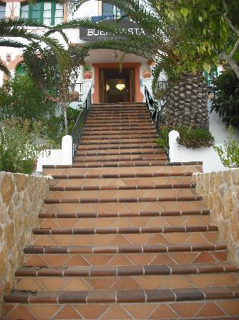 Hostal Buenavista: the steps