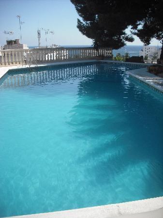 Hostal Buenavista: the pool