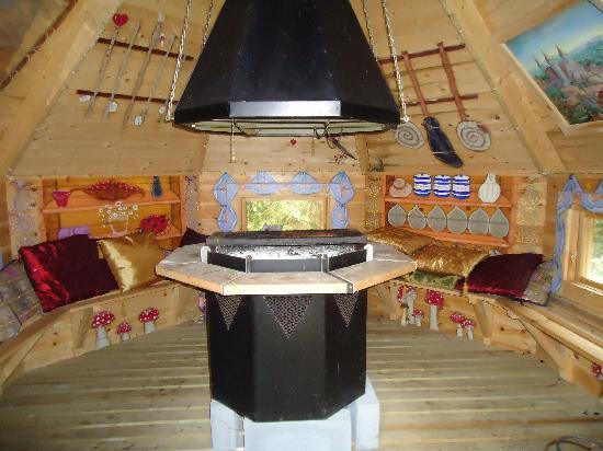 Enchanted Manor: indoor bbq