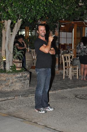 Ferryman Taverna: Akis, the manager