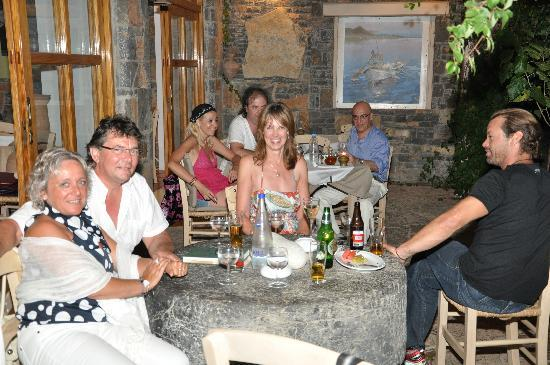 Ferryman Taverna: a wonderful Greek night...