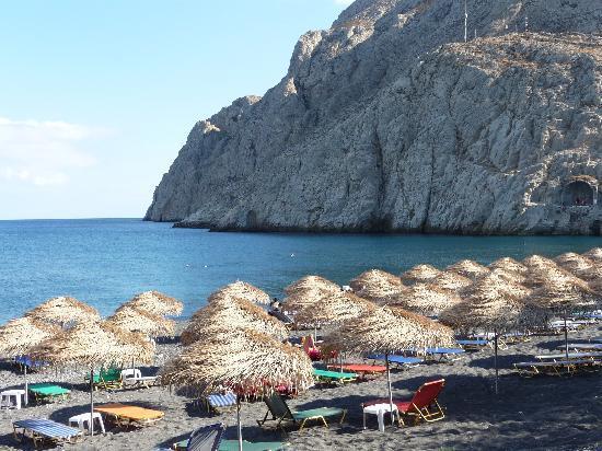 Santorini, Kreikka: пляж