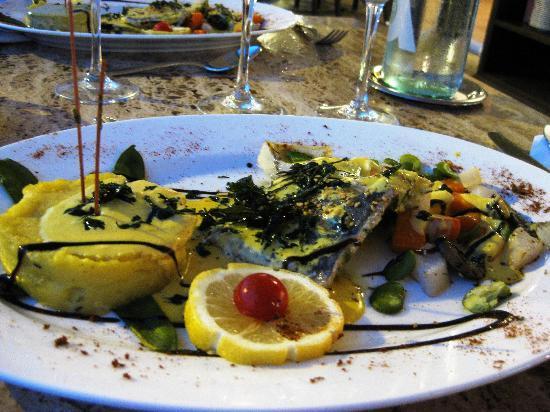 Restaurant Abri Des Flots : my beautiful dish