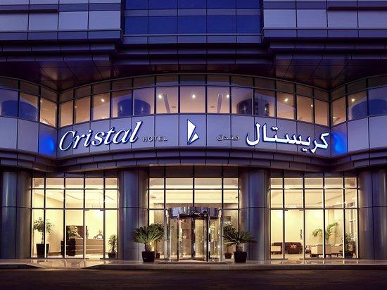 Cristal Hotel Abu Dhabi: Entrance