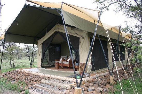 Naboisho Camp, Asilia Africa : Family Tent