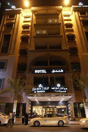Golden Tulip Al Barsha: From the street