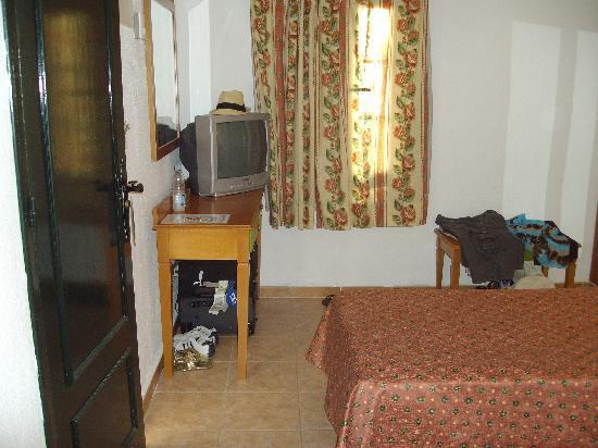 Globales Pueblo Andaluz: chambre exigue