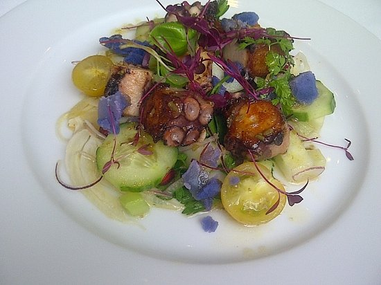 L'Anima: the Octopus Salad....a delicious plateful of color