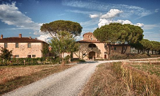 Cortona Resort - Le Terre dei Cavalieri: Het hoofdgebouw