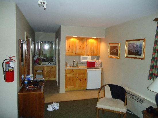 Woodland Room Kitchenette Bath Area The Cabinets Were