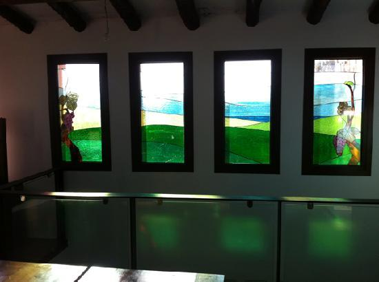 Bodega Barranco Oscuro : tasting room