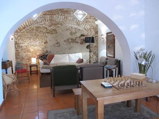 Albergaria do Calvario: La sala relax
