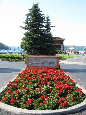 Coeur d'Alene City Park and Independence Point: Entrance to park, Coeur d'Alene, ID