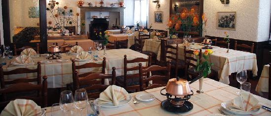 Albergo Svizzero: sala fondue