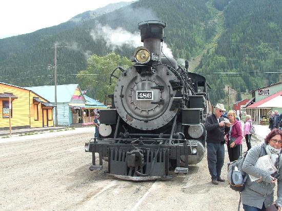 Durango and Silverton Narrow Gauge Railroad and Museum: On arrival to Silverton