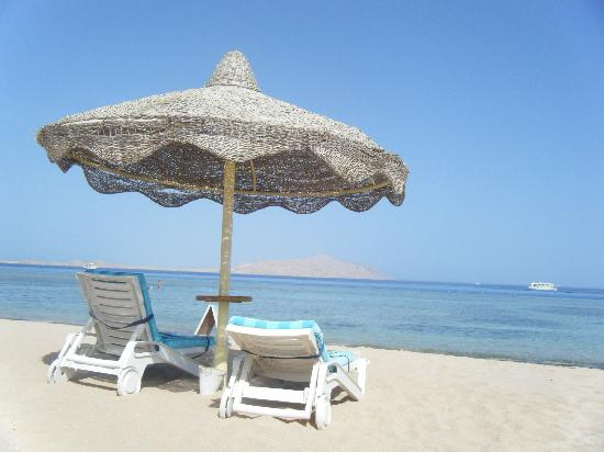 Baron Palms Resort Sharm El Sheikh: lovely beach