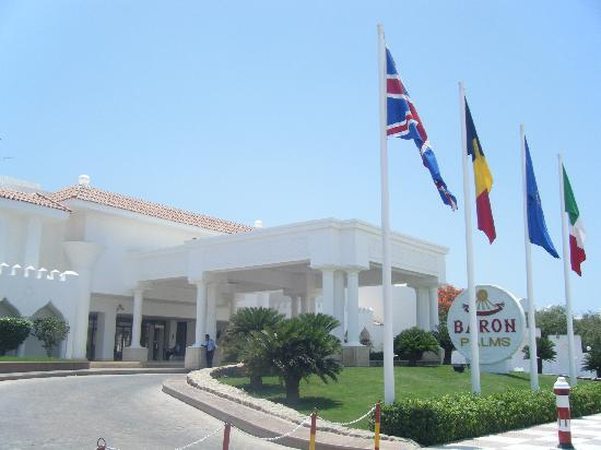 Baron Palms Resort Sharm El Sheikh: main entrance