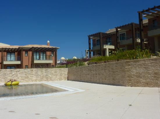 Our townhouse, private pool (shared with neighbours) - Monte Santo resort, Carveiro
