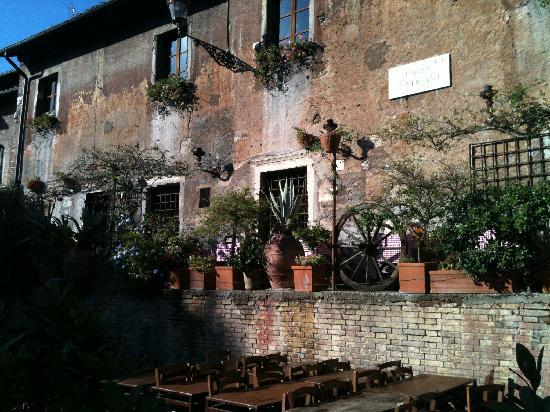 La Taverna de' Mercanti : l'esterno