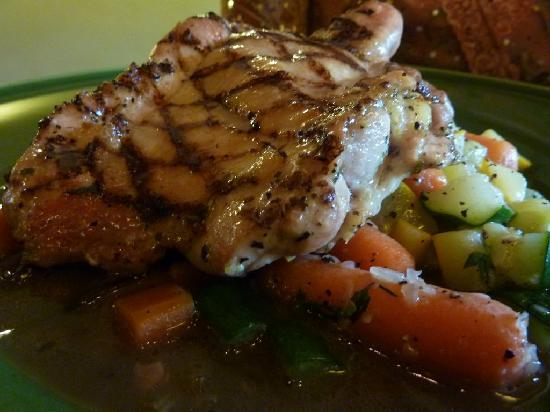 Grill Bar : Coq Au Vin - Grilled tenderchicken marinate with red wine ...