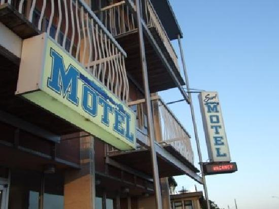 Exterior of the Surf Motel