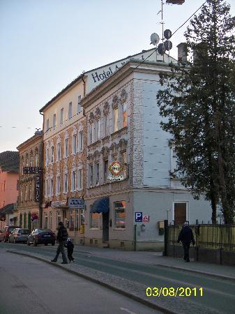 Hotel-Pension Alderhof: Outside of the Hotel