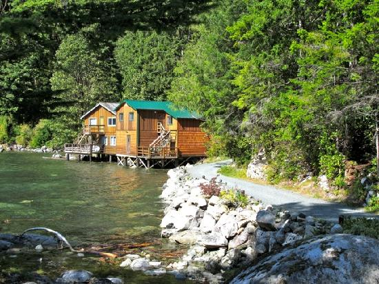 Dent Island Lodge: Cabins available for rent