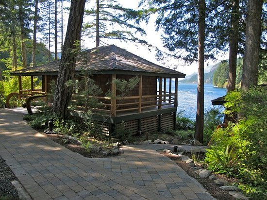 Dent Island Lodge: Exercise cabin