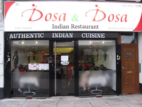 Dosa & Dosa: Our front view