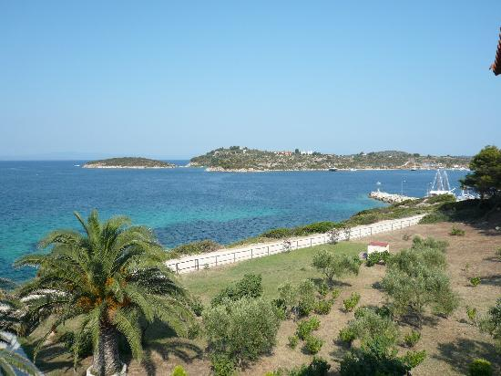 Barbagiannis House: Lovely view from a top floor balcony