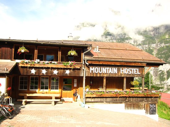 Mountain Hostel Grindelwald: 外観