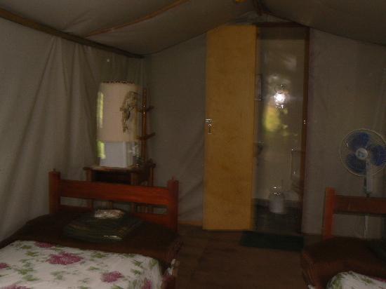 Pantanal Jaguar Camp: Tent interior
