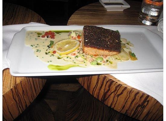 Japonais at the Mirage : Delicious Salmon