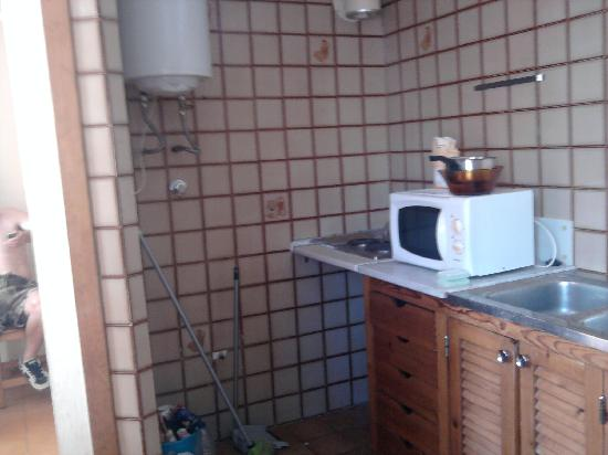 San Francisco Apartamentos: kitchen