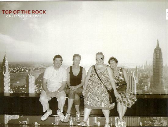 จุดชมวิวท็อปออฟเดอะร็อค: top of the rock picture