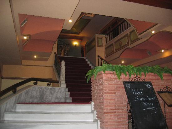 Sultanahmet Palace Hotel : reception