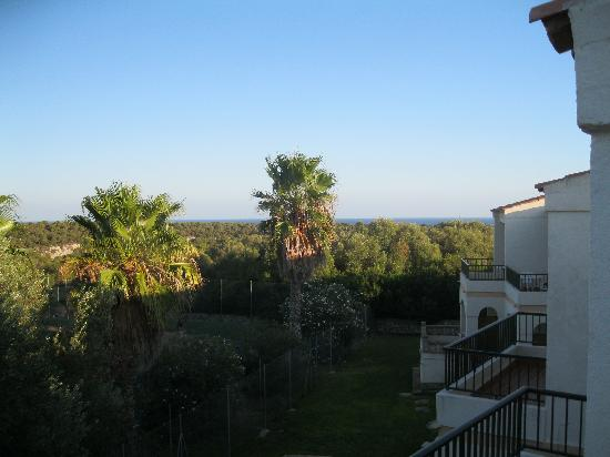 Sol Romantica : View from balcony