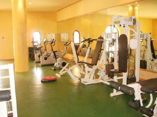 Yadis Djerba Golf Thalasso & Spa : salle de fitness