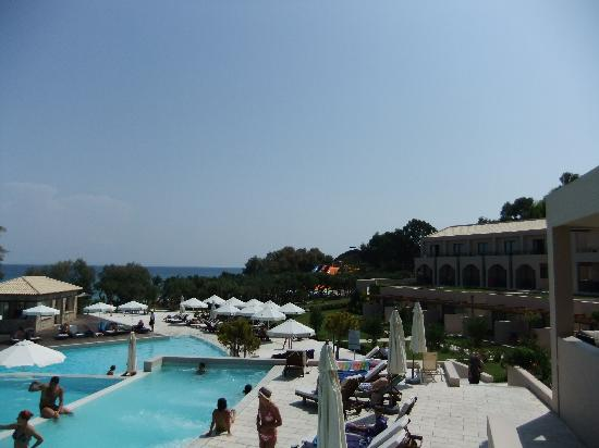 Atlantica Eleon Grand Resort & Spa: hotel and pools