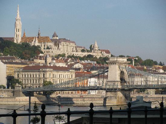 โรงแรมบูดาเปสท์ แมริอ็อต: View from the Hotel Marriott Budapest