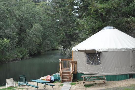 Siltcoos Lake: Yurt