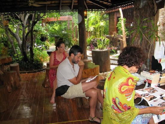 Baan Habeebee Resort: Resguardados de la lluvia