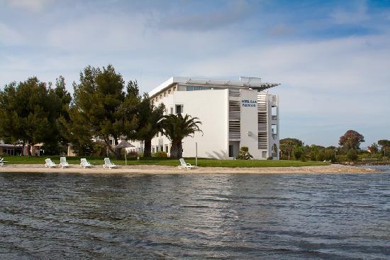 Hotel Club Plein Sud : Vue du lagon