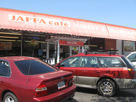 Jaffa Cafe: Awesome place to eat!