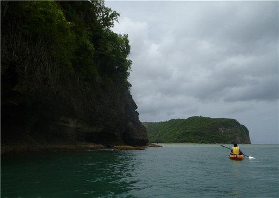 DFH Kayaking: Leaving Marigot Bay