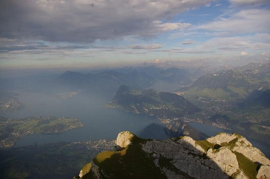 Hotel Pilatus-Kulm: Like in heaven...