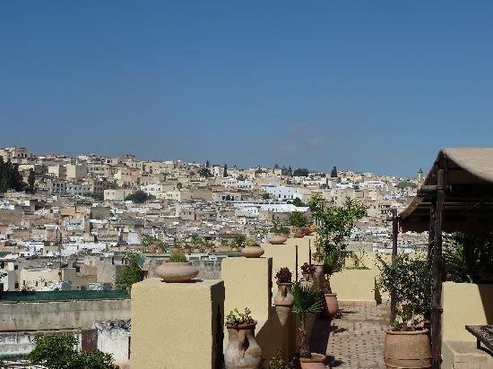 Riad Le Calife: Terrasse des Riad