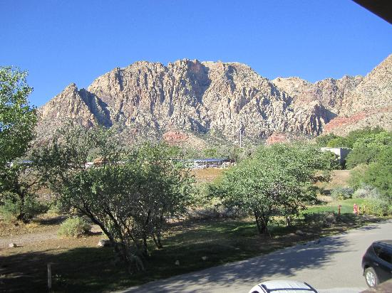 Bonnie Springs Motel : View from the door of our room!